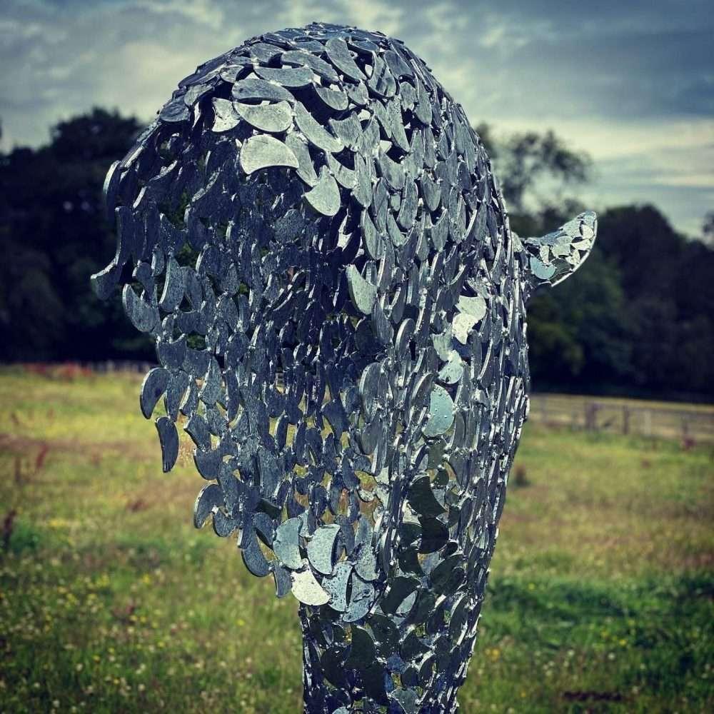 Silver Horse Head