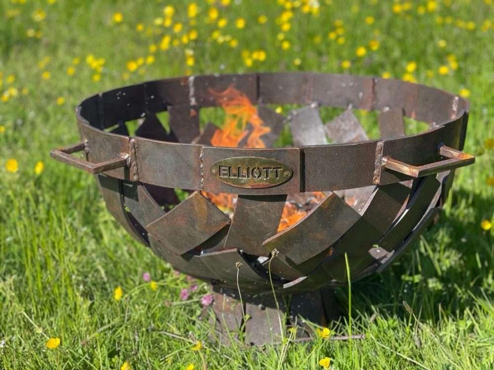 Brass Fire Pit