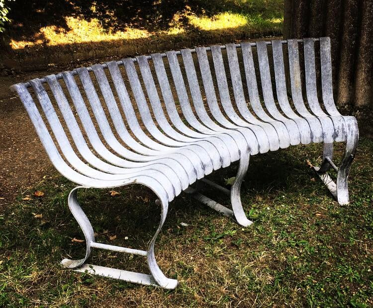 Side Of Curved Bench