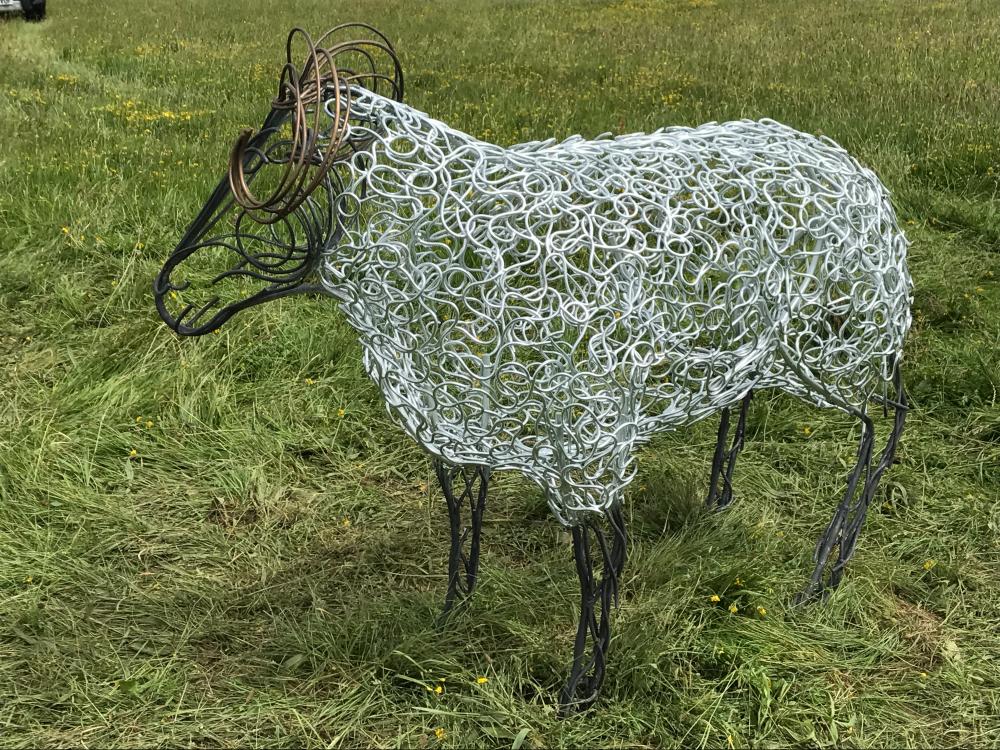 Ram & Sheep Sculpture - Flock