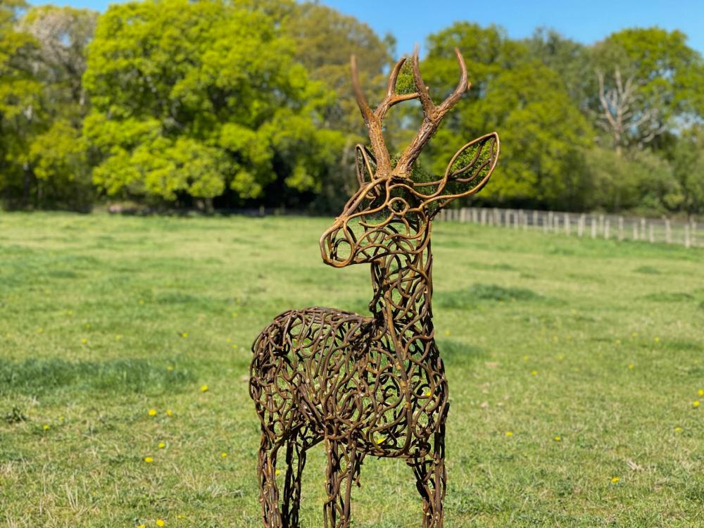 Stag Sculpture