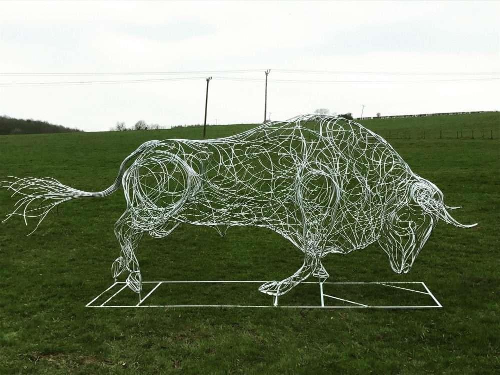 Side Of Charging Bull