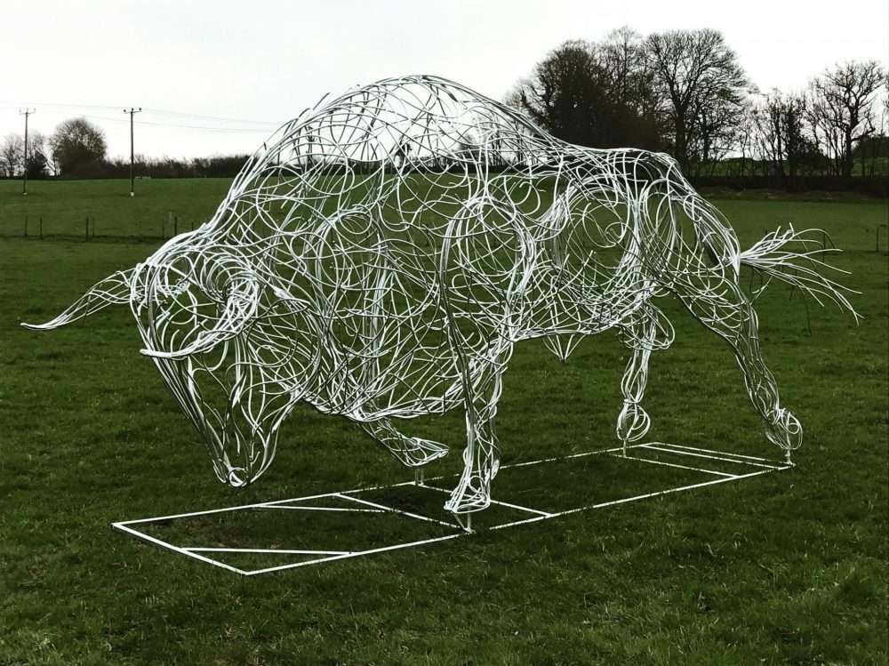 Horns Of Charging Bull