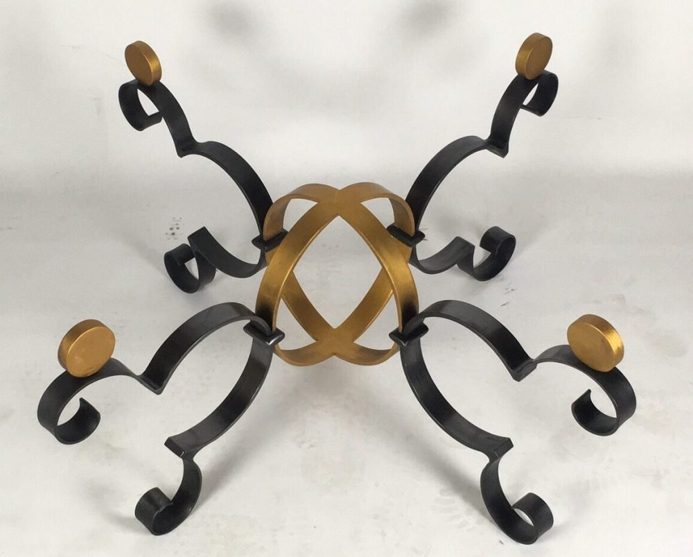 Gold and Black Structure