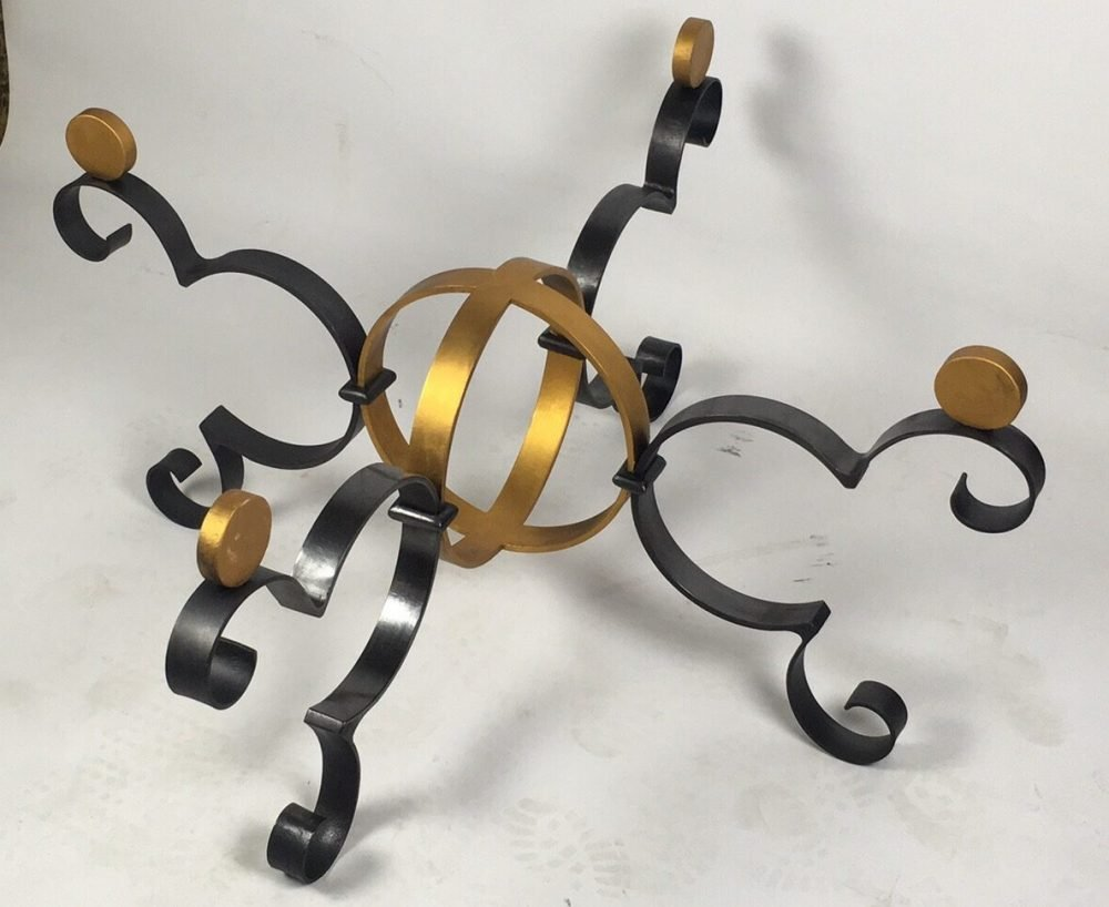 Regal Gold and Black Structure