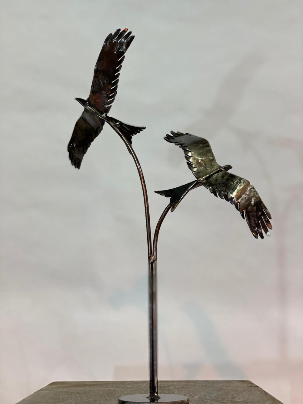 small birds sculpture design