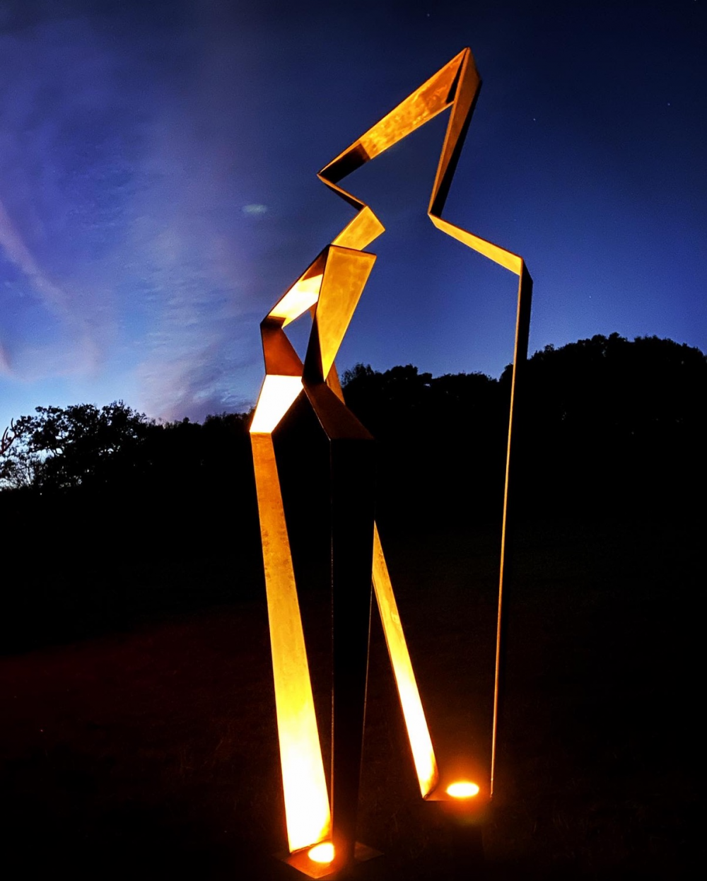 Mother & Child Abstract Sculpture