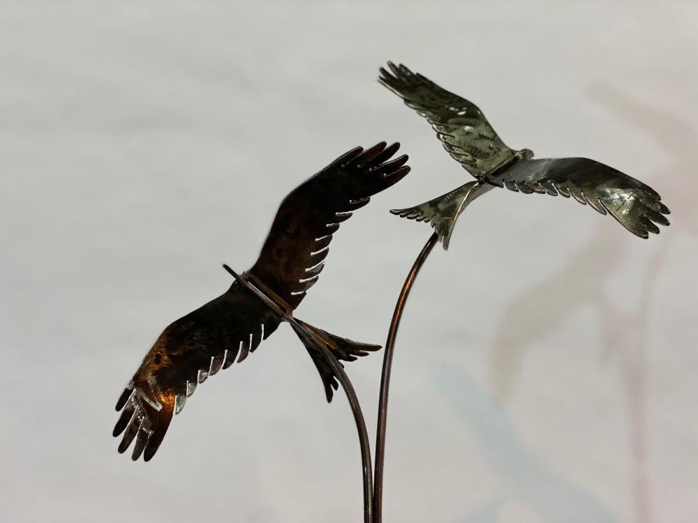 Birds Flying Interior Sculpture