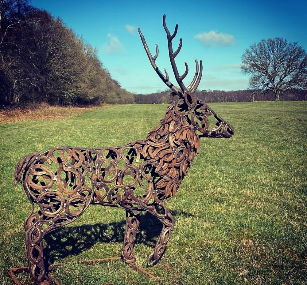 Small Stag Sculpture