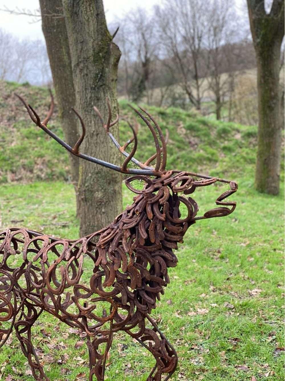 Stag Head Sculpture