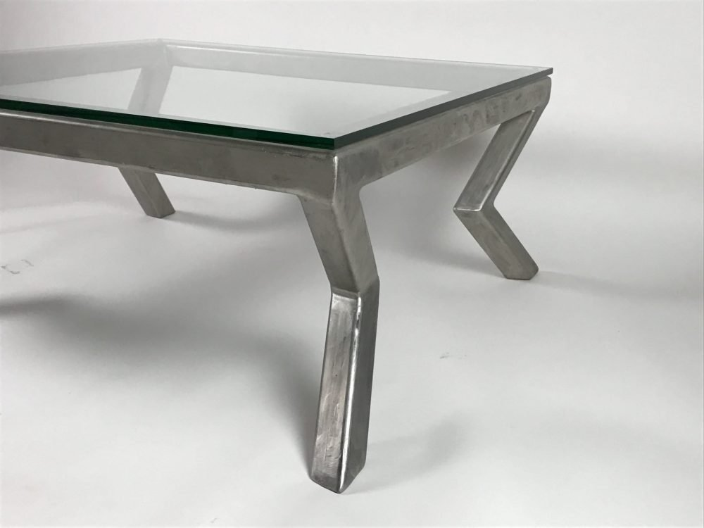 Silver Angolare Coffee Table