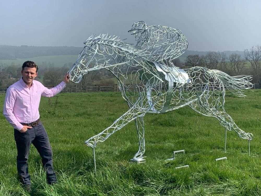 At Full Stretch Horse