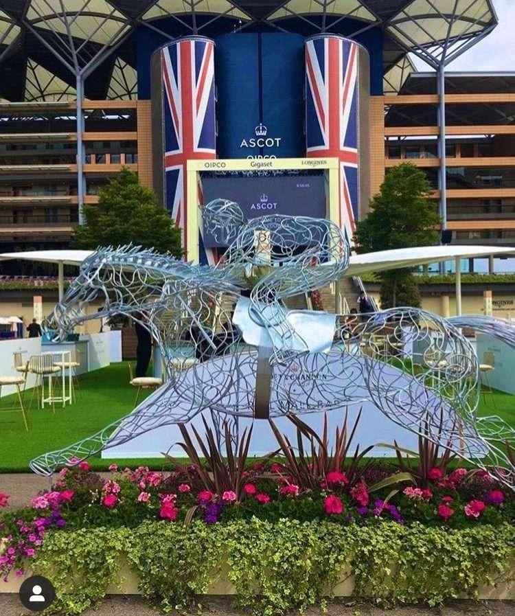 At Full Stretch Horse At The Royal Ascot
