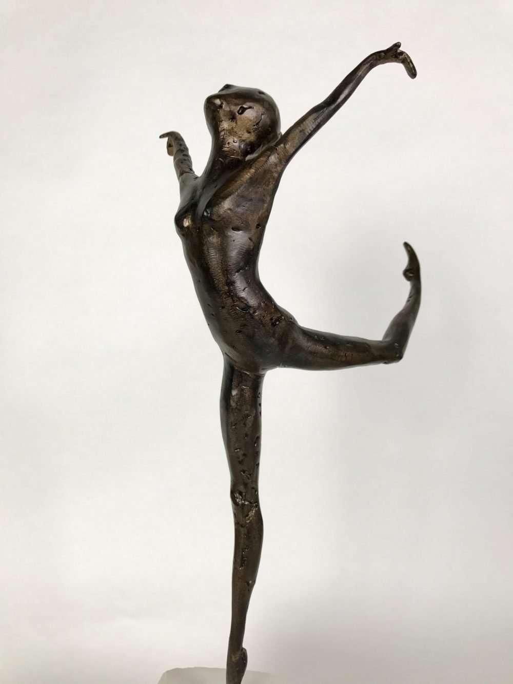 Small Bronze Coryphee Sculpture