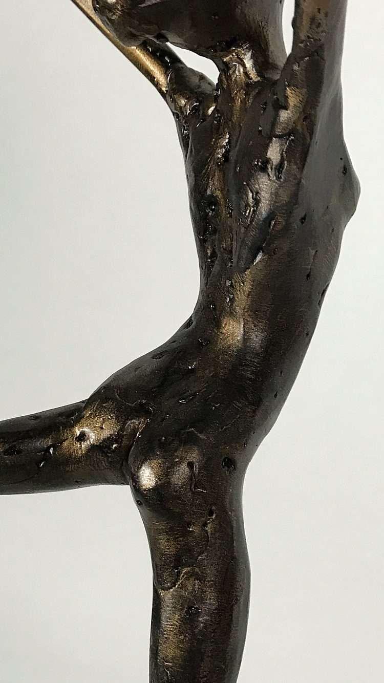 Bronze Coryphee Sculpture Gallery Back View