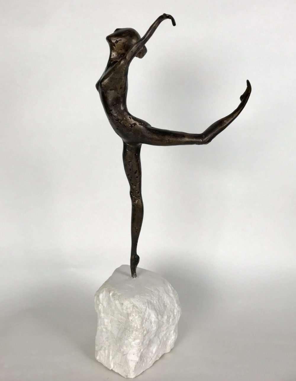 Bronze Hand Sculpted Coryphee Sculpture