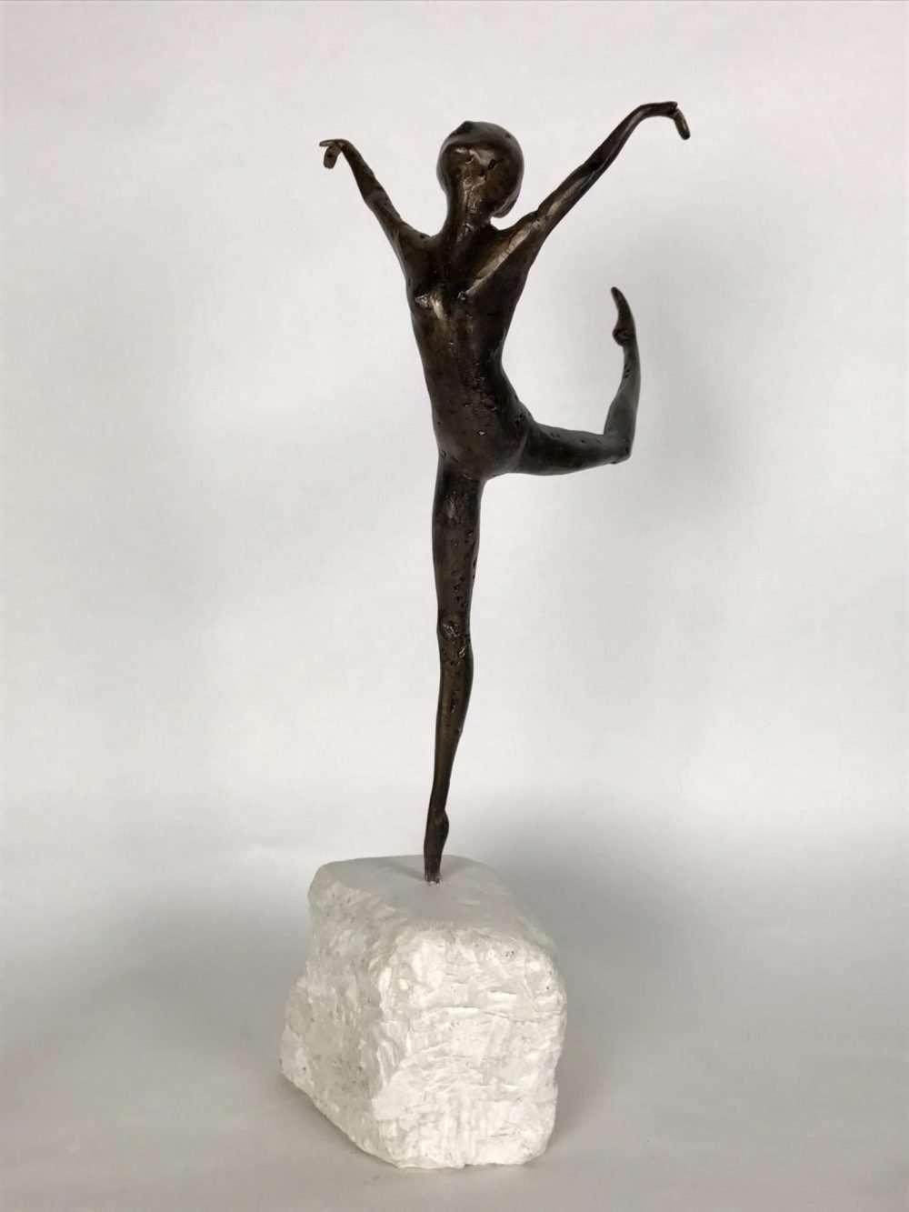 Bronze Dancing Woman Sculpture