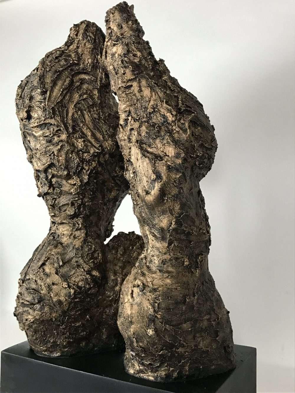 Woman's Torso In Bronze