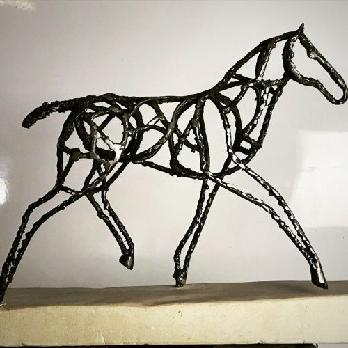 Interior Abstract Foal