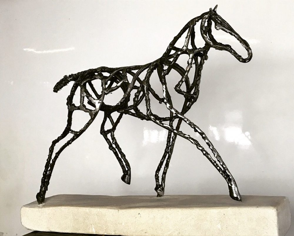 Interior Abstract Foal Sculpture