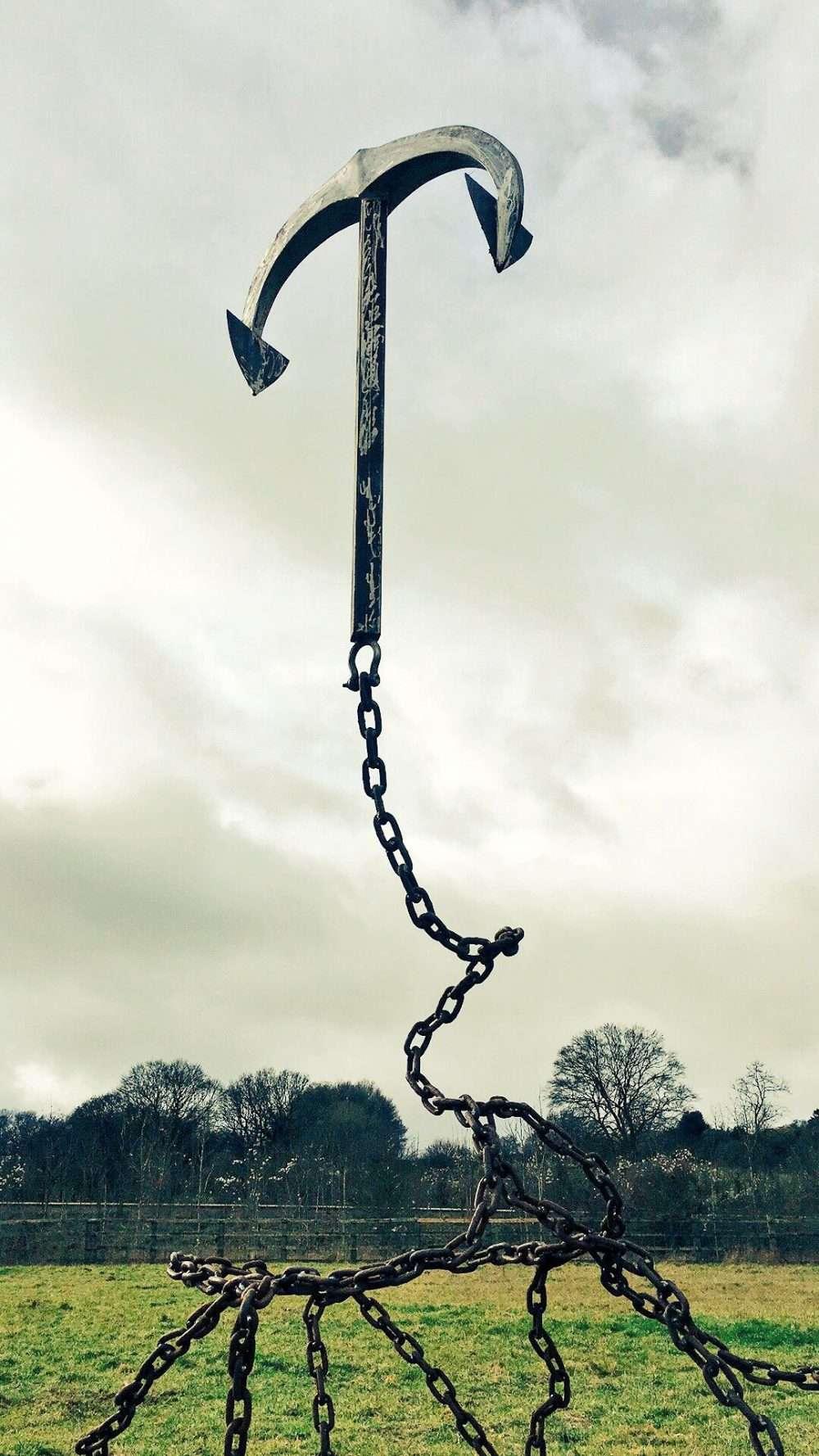 Gravity Anchor Sculpture