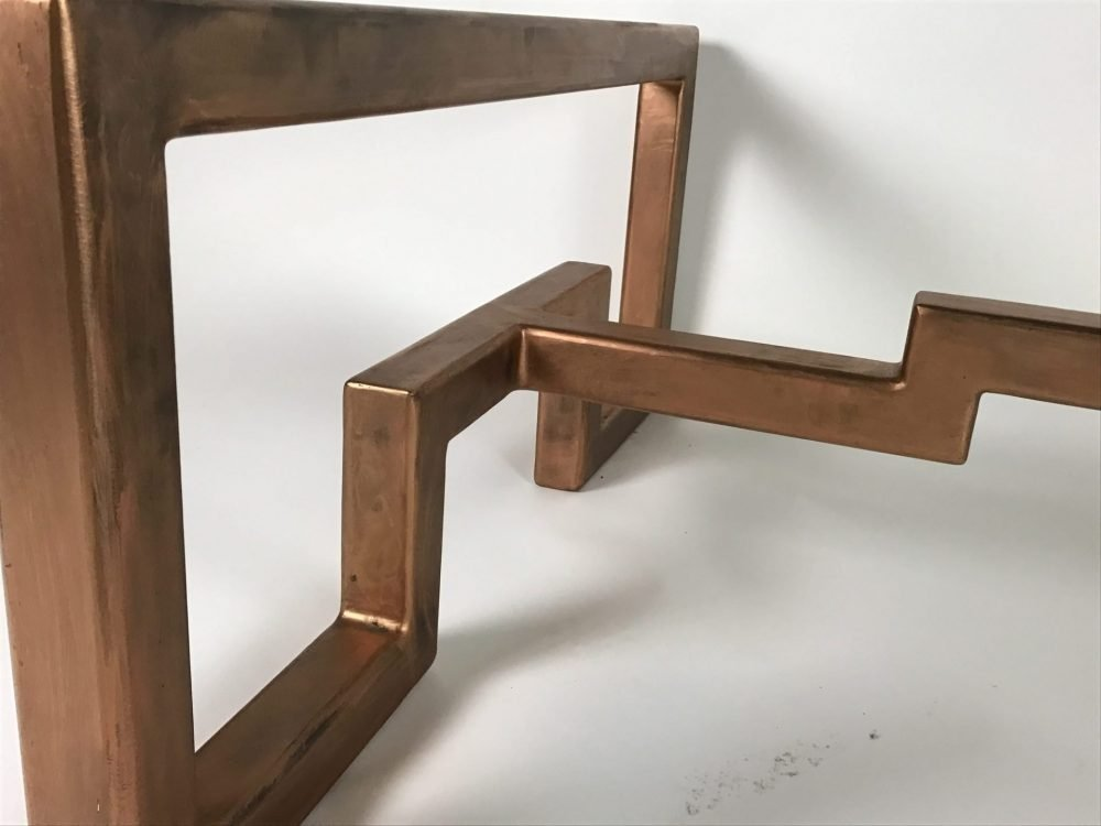 Close Up Of Lien Croix Coffee Table