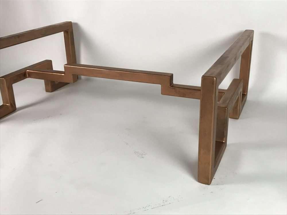 Bronze Lien Croix Coffee Table