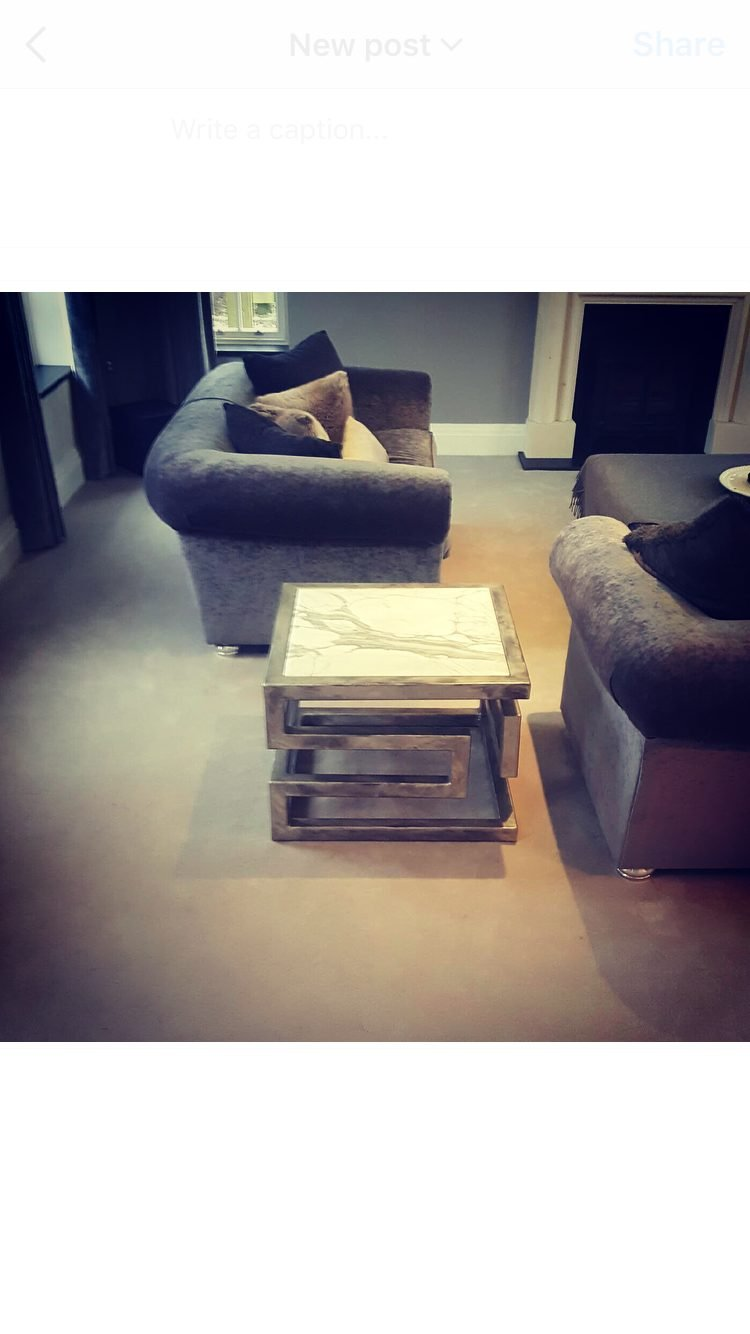 Lien Croix Side Table In House