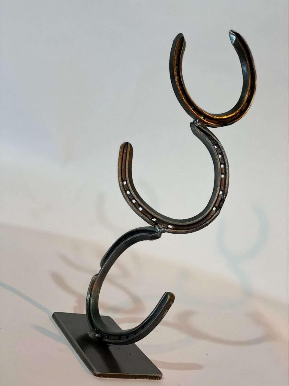 BRASS HORSESHOE SCULPTURE Gallery