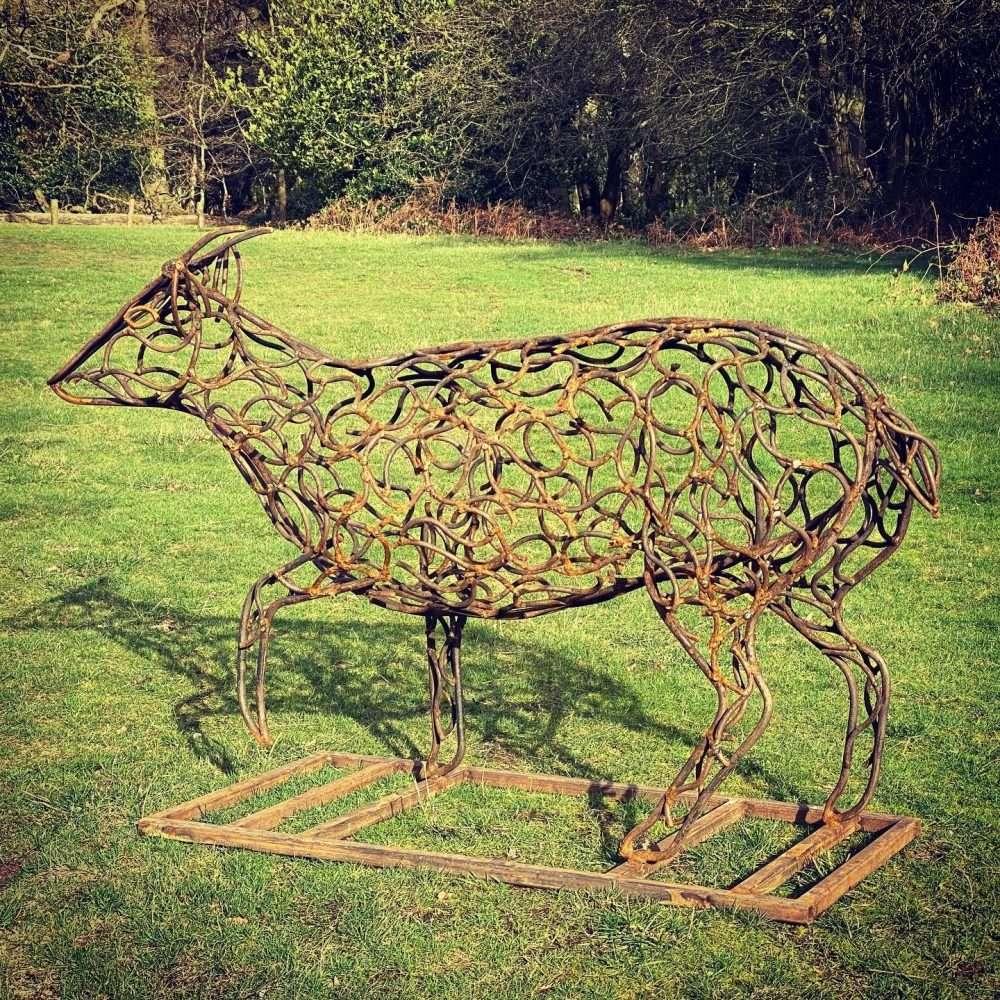 Brass Muntjac Deer