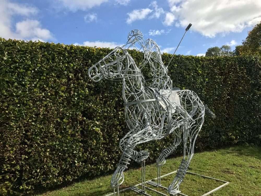 Polo Pony Sculpture