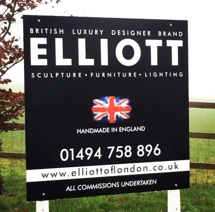 Large Elliott Sign