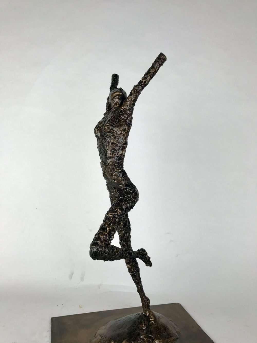 Release Bronze Man Sculpture