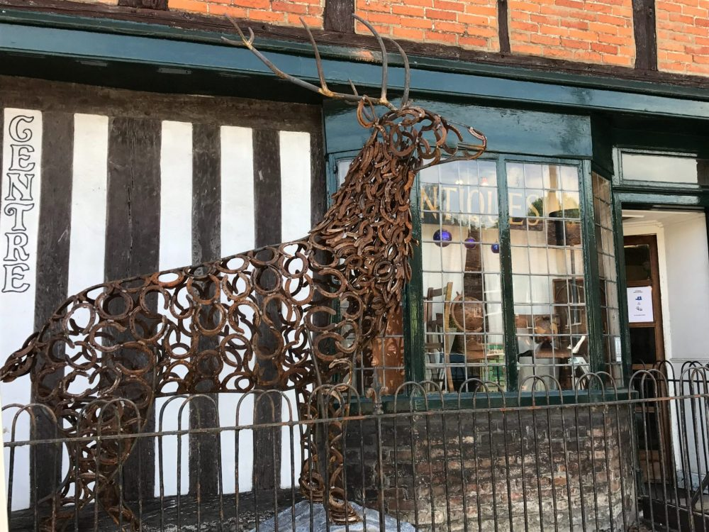 Rustic Stag Sculpture Wendover