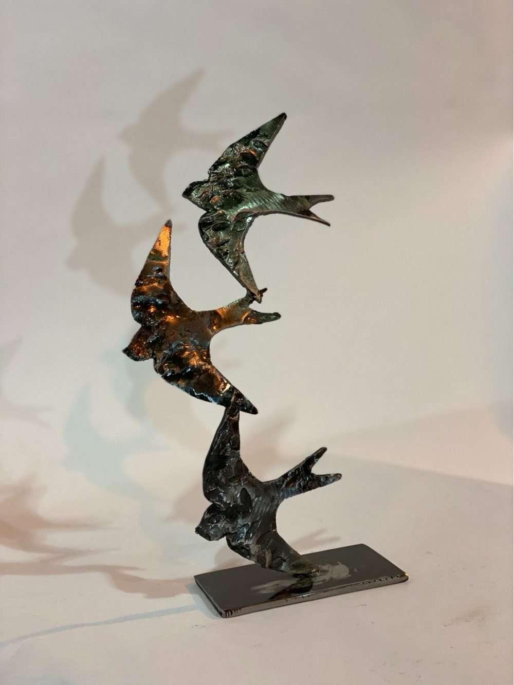 Swifts in Flight in Gallery