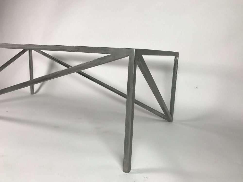 corner view of Triangolare Coffee Table