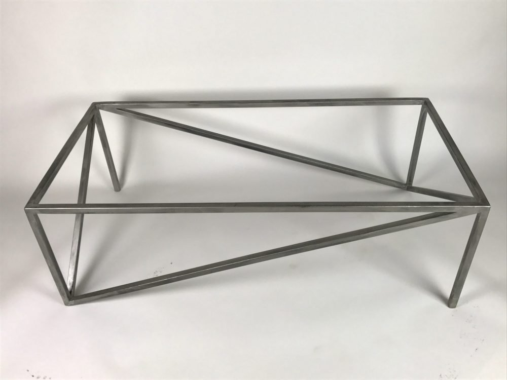 top view of Triangolare Coffee Table