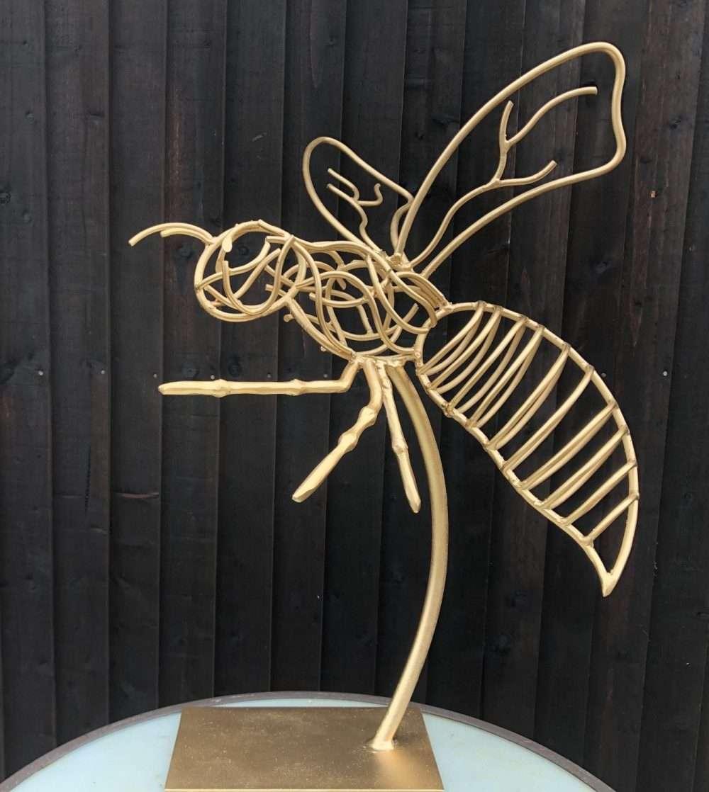 Handmade Wasps Sculpture