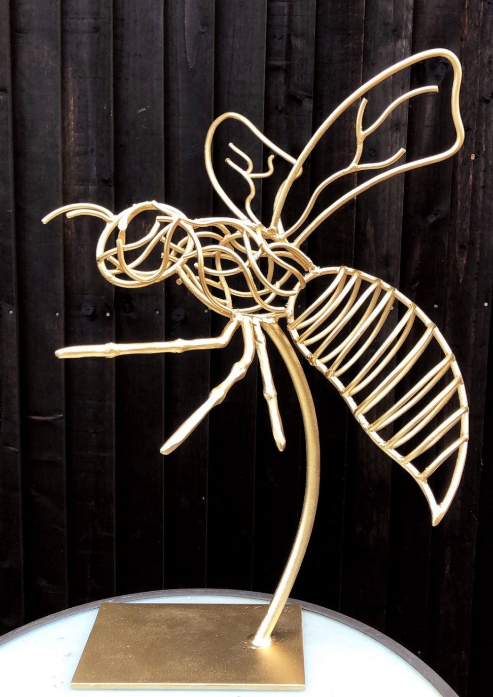 Portrait View Of Wasps Sculpture