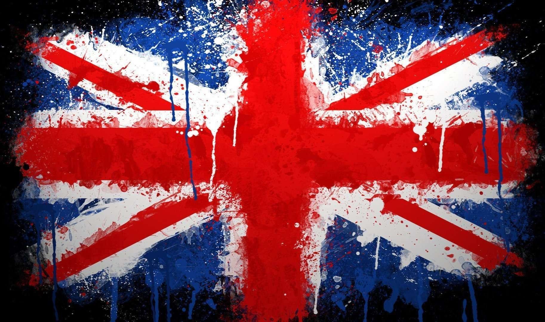 British painted flag