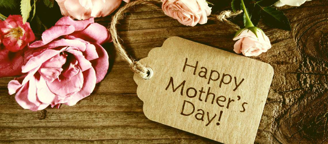 happy mother's day sign