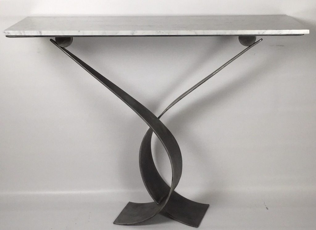 Image of a Handmade Console Table