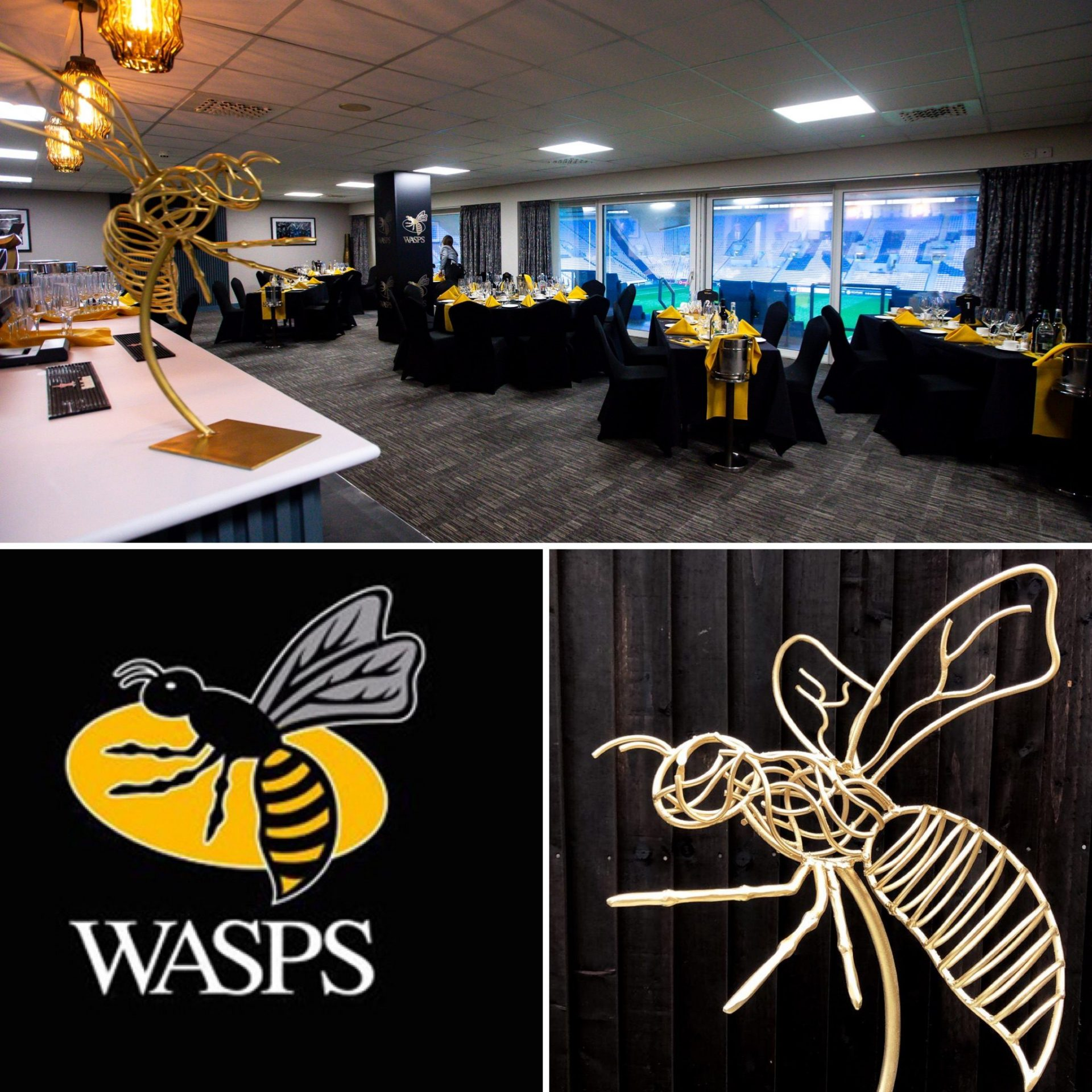 Wasps Sculpture Collection