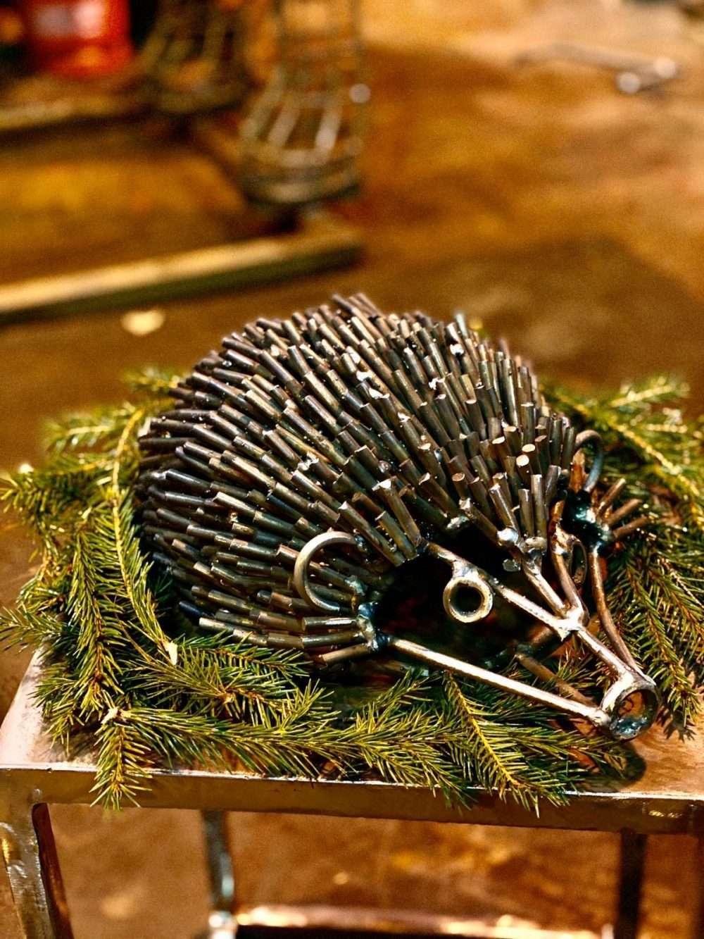 Brass Hedgehog