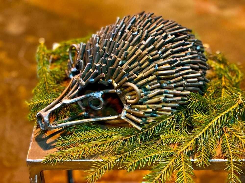 Hedgehog Sculpture