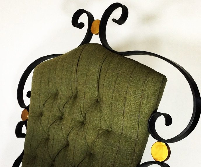 Top Of Handcrafted Chair