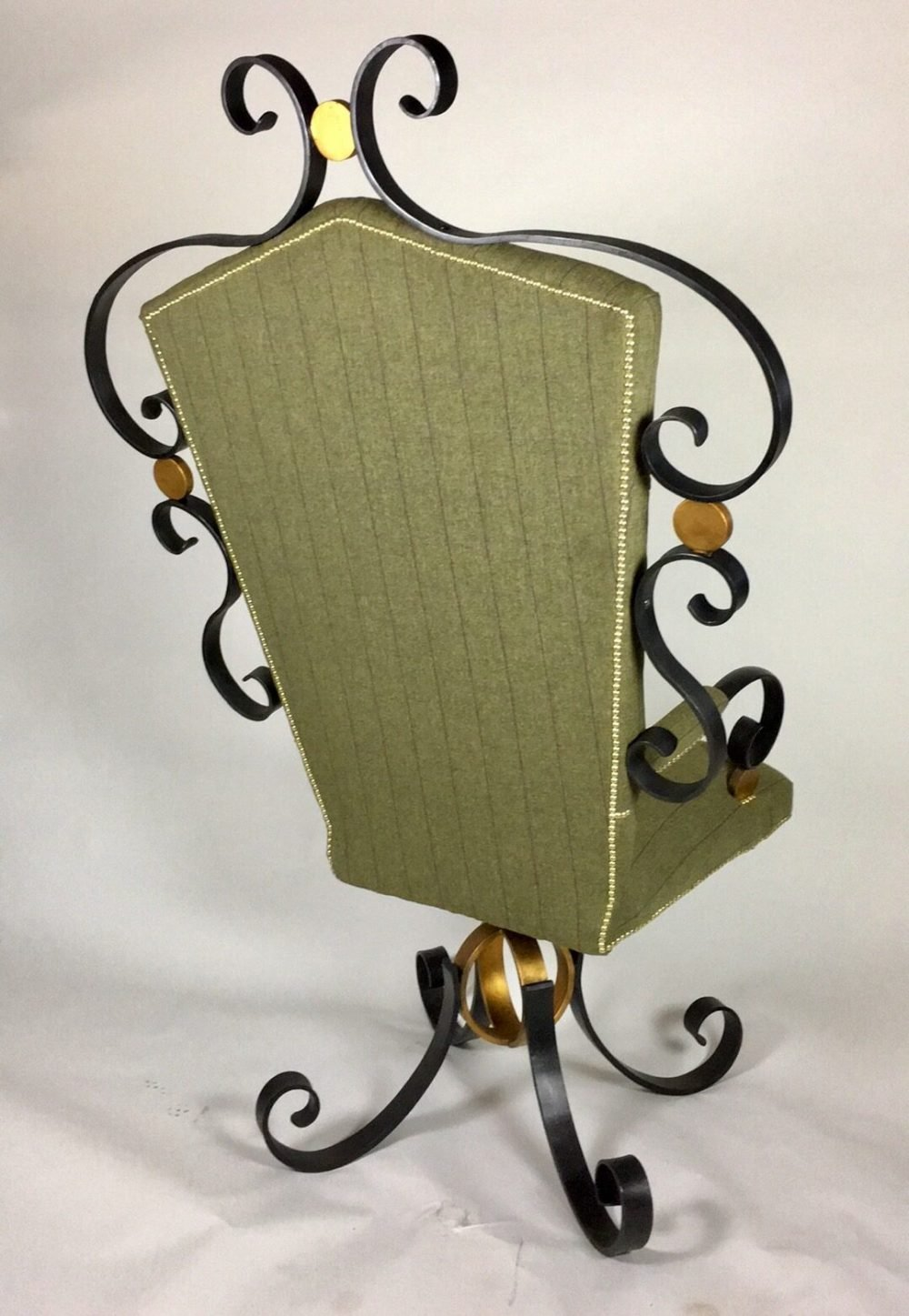 Back Of Handcrafted Chair
