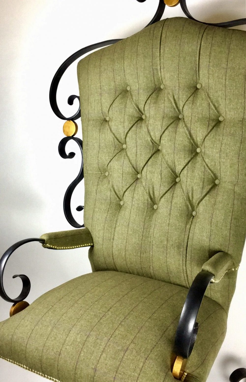 Full View Of Handcrafted Chair