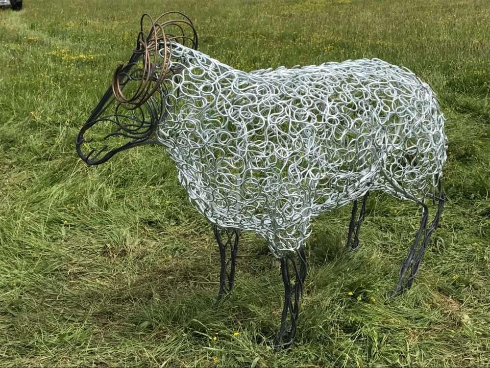 Intricate Ram Sheep Design