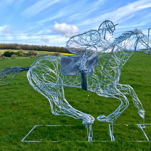Horse and Jokey Design